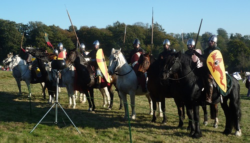 Mounted warriors