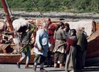 Trading system of vikings