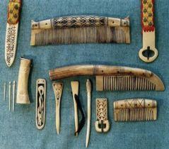 Regia Anglorum Anglo Saxon And Viking Crafts Bone And Antler Work